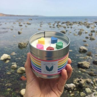 Belle Isle Pride Candle