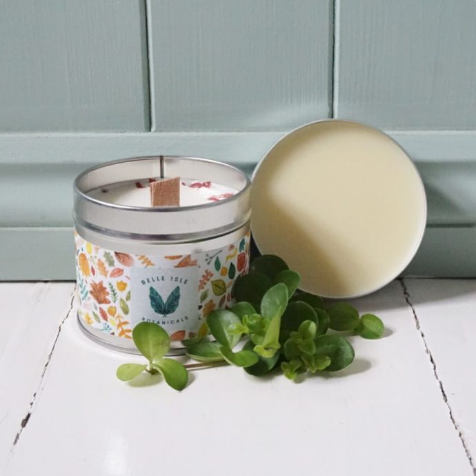 Belle Isle candle and body balm