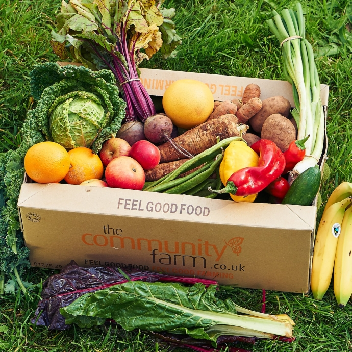 community farm veg box